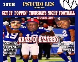 GET IT POPPIN THURSDAYS NIGHT FOOTBALL