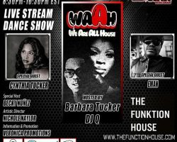 THE FUNKTION HOUSE – LIVE STREAM DANCE SHOW