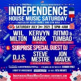 BACK 2 HOUSE BEATS – INDEPENDENCE HOUSE MUSIC SATURDAY